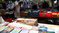 sonniger Buchkauf